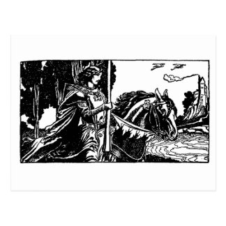 Carte Postale chevalier