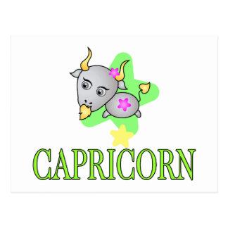 Carte Postale Chèvre de Capricorne