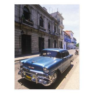 Carte Postale Chevrolet admirablement classique reconstitué de