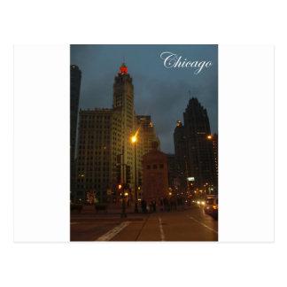Carte Postale Chicago en décembre