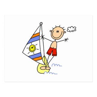 Carte Postale Chiffre de bâton de parachute ascensionnel