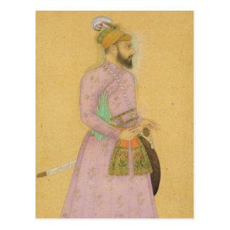 Carte Postale Chiffre debout d'un prince de Mughal, du petit