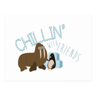 Carte Postale Chillin avec des amis