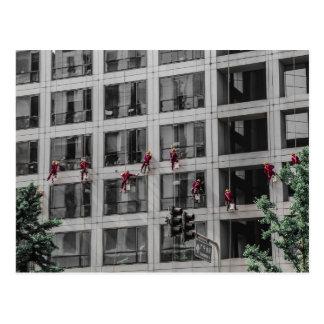 Carte postale chinoise de joints de fenêtre