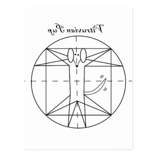Carte Postale Chiot de Vitruvian