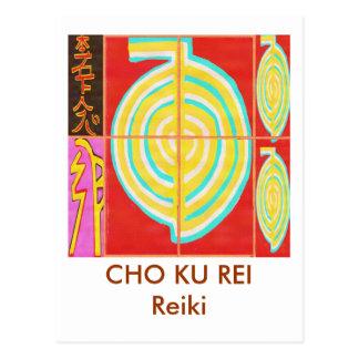 Carte Postale CHO KU REI - Reiki