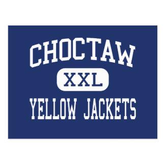 Carte Postale Choctaw - guêpes - haut - Choctaw l'Oklahoma