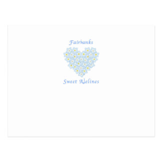 Carte Postale Choeur doux de Fairbanks Adelines