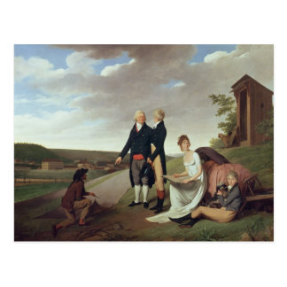Carte Postale Christophe-Philippe Oberkampf et famille