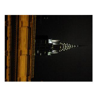 Carte Postale Chrysler construisant au-dessus du central grand