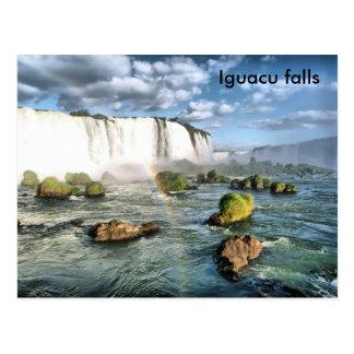 Carte Postale Chutes d'Iguacu de panorama