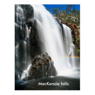 Carte Postale Chutes du Mackenzie