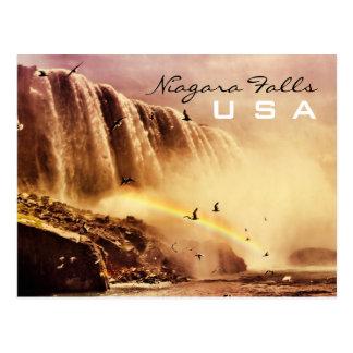 Carte Postale Chutes du Niagara, Etats-Unis