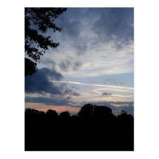 Carte Postale Ciel d'après-midi