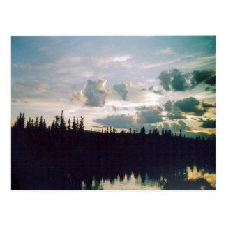 Carte Postale Ciel de Fairbanks
