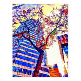 Carte Postale Ciel de ville de Toronto par le Mac de Shawna