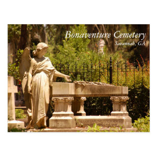 Carte Postale Cimetière de Bonaventure, la savane GA