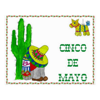 CARTE POSTALE CINCO DE MAYO