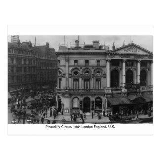 Carte Postale Cirque Londres 1904, Angleterre R-U de Piccadilly