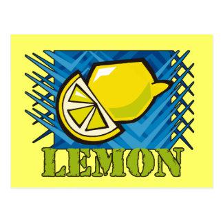 Carte Postale Citron en épi