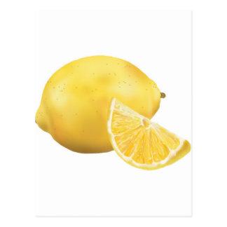 Carte Postale Citron frais