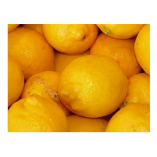 Carte Postale Citrons frais