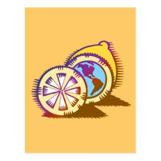Carte Postale Citrons mondains