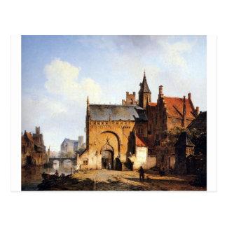 Carte Postale Cityview d'imaginaire de Maassluis par Cornelis