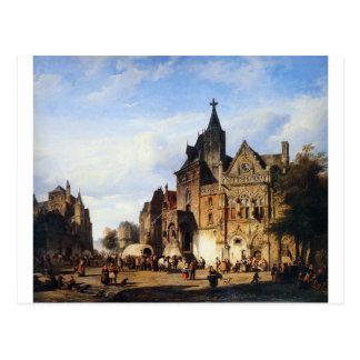 Carte Postale Cityview par Cornelis Springer