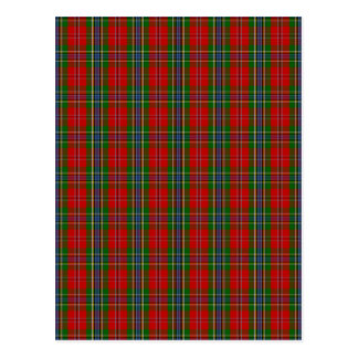 Carte Postale Clan MacLean de tartan de Duart