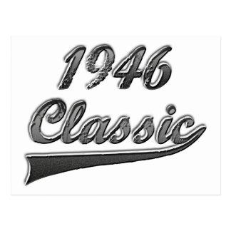 Carte Postale Classique 1946