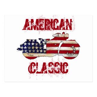 Carte Postale Classique américain