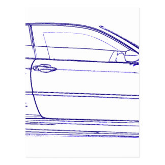 Carte Postale Classique de BMW E46