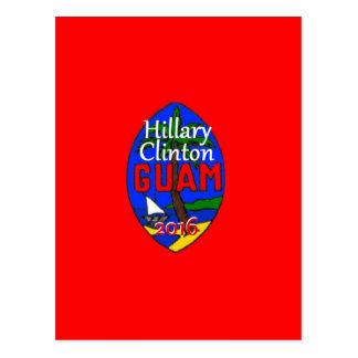 Carte Postale Clinton Guam 2016