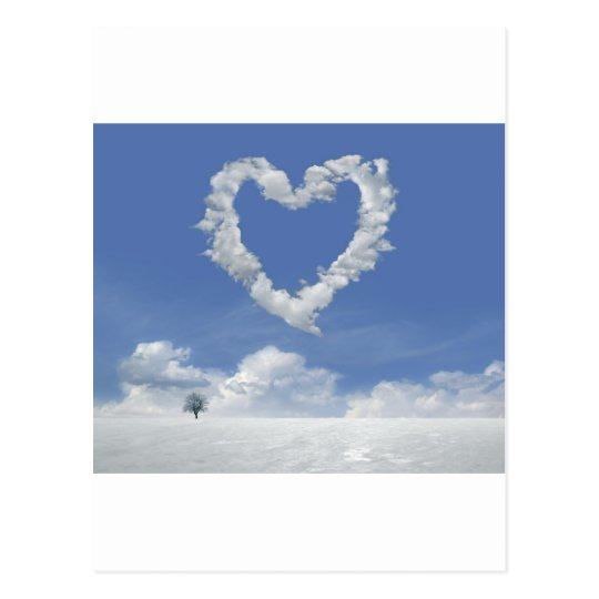 Carte Postale clouds-of-love postcard