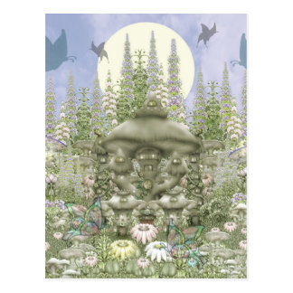 Carte Postale Club de champignon - royaume de champignon