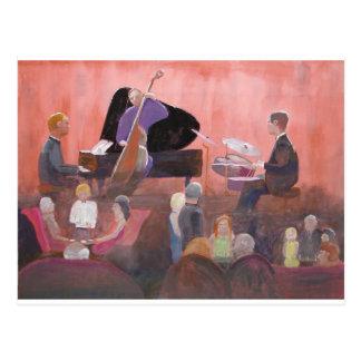 Carte Postale Club de jazz