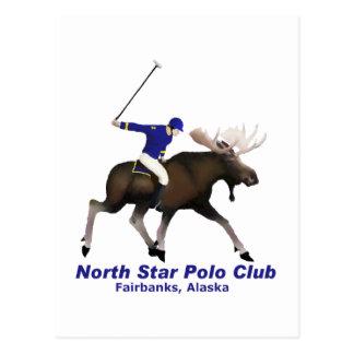 Carte Postale Club de polo d'étoile du nord