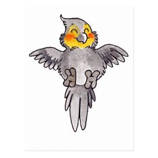 Carte Postale Cockatiel
