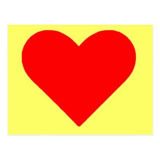 Carte Postale Coeur