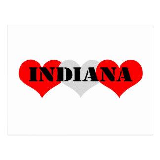 Carte Postale Coeur de l'Indiana