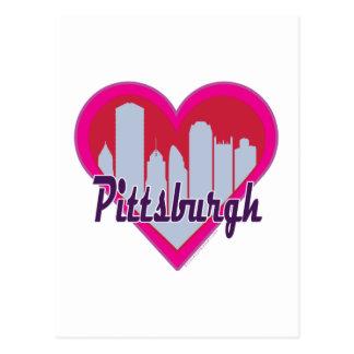 Carte Postale Coeur d'horizon de Pittsburgh