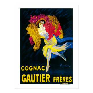 Carte Postale Cognac Gautier PosterFrance promotionnel