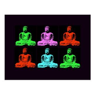 Carte Postale Collage de Bouddha