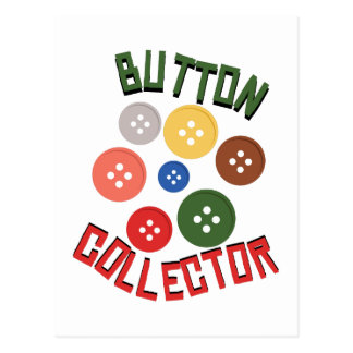Carte Postale Collecteur de bouton