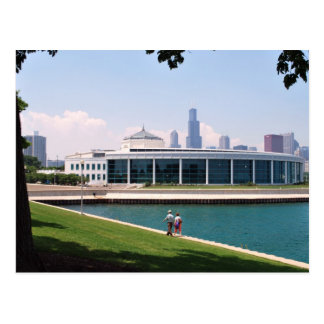 Carte Postale Collection d'aquarium de Chicago Shedd
