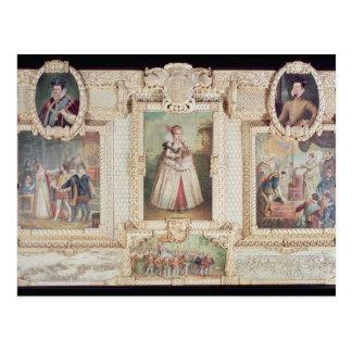 Carte Postale Collection de six miniatures