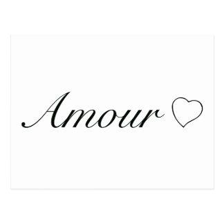 "Carte Postale Collection ""intrigue amoureuse"" (amour)"