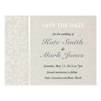 Carte Postale Collection naturelle de mariage de SmartElegance