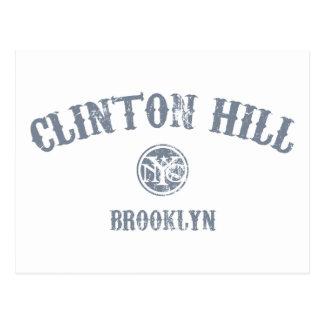 Carte Postale Colline de Clinton